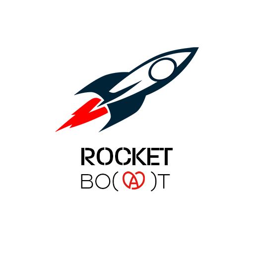 Rocket Boat logo moyenne taille